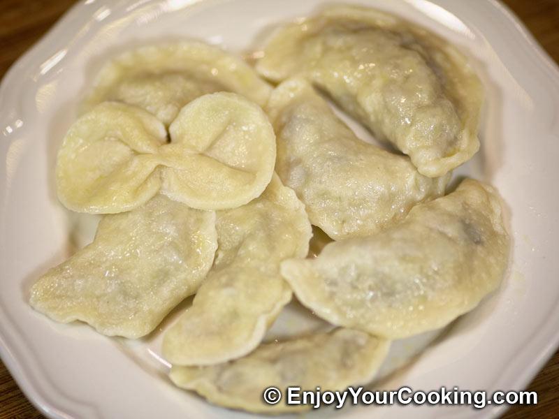 Potato and Mushroom Stuffed Dumplings Recipe   My Homemade ...