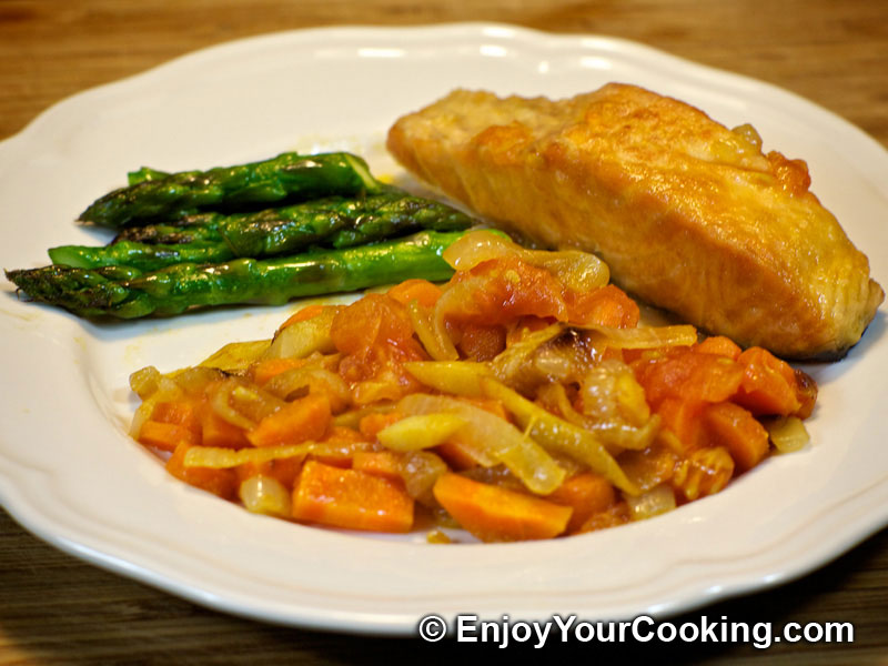 fish with vegetables recipe my homemade food recipes