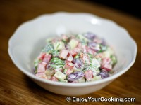 Bean, Cucumber and Bell Pepper Salad Recipe