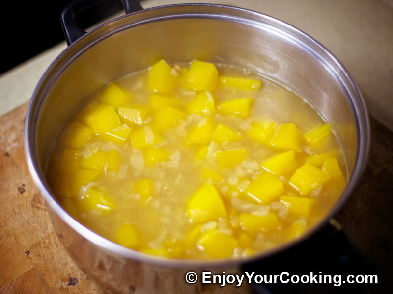 Pumpkin and Rice Soup-Puree Recipe   My Homemade Food Recipes & Tips ...