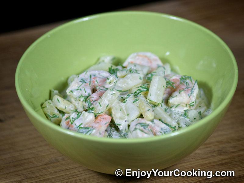 Shrimp and Asparagus Salad Recipe | My Homemade Food Recipes & Tips ...