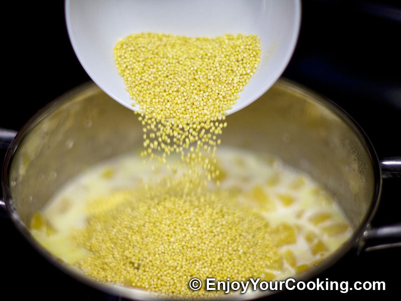 Pumpkin and Millet Porridge Recipe   My Homemade Food Recipes & Tips ...