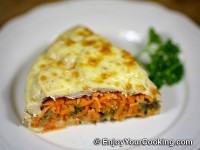 Mushroom and Carrots Stuffed Chicken Casserole Recipe