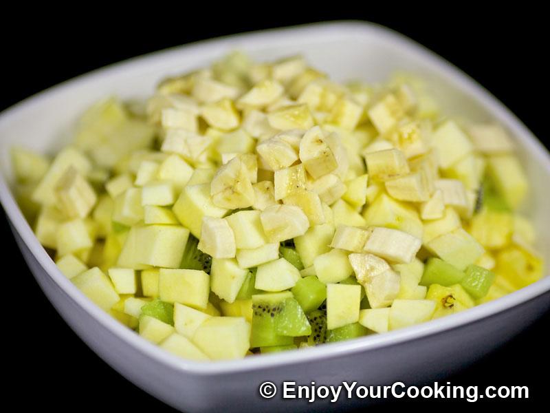 Banana Yogurt Salad Recipe — Dishmaps
