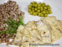 Recipe for Beef Liver with Sour Cream