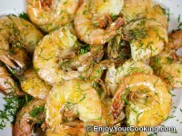 Recipe for Simple Fried Shrimps