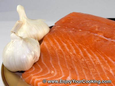 Fast Salted Salmon Recipe: Step 1
