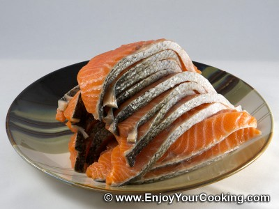 Fast Salted Salmon Recipe: Step 2
