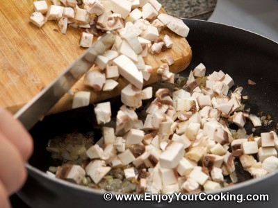 Carrots and Stewed Mushrooms Salad Recipe: Step 4