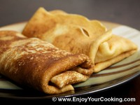 Crêpes Stuffed with Apple