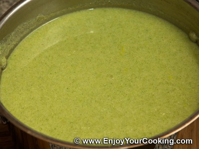 Soup Puree with Broccoli and Chicken Recipe: Step 10