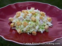 Cabbage and Chicken Salad