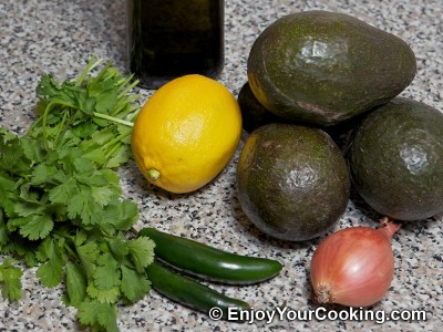 Spicy Guacamole Dip Recipe: Step 1
