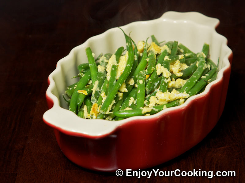 String beans fried with eggs recipe my homemade food recipes string beans fried with eggs forumfinder Gallery