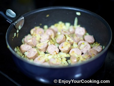 Cabbage Braised with Bratwurst Recipe: Step 3