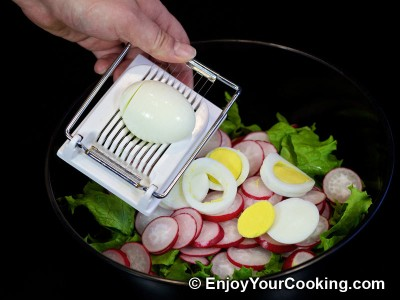 Spring Radish Salad Recipe: Step 4
