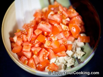 Tomato and Chicken Salad Recipe: Step 4