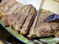 Onion Marinated Roast Beef Recipe