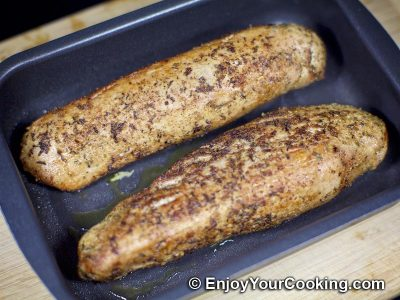 Roasted Pork tenderloin with Spicy Rub: Step 5