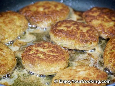 Zucchini and Beef Patties: Step 13