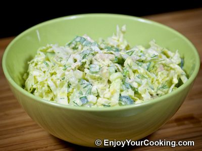 Napa Cabbage and Chicken Salad: Step 10